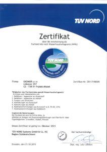 thumbnail of Zertifikat Fachbetrieb WHG
