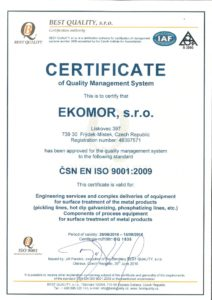 thumbnail of Certificate ISO 9001